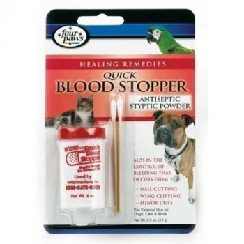 Blood Stopper/Antiseptic Styptic Powder