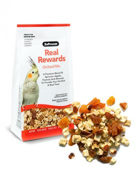 Real Reward Orchard Mix MD Birds 6oz- Zupreem