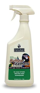 24oz Cage Cleaner & Deodorizer Ruffled Feathers
