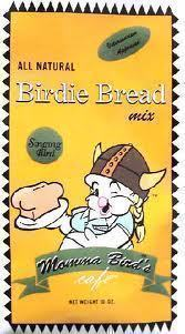 Singing Birdie Bread