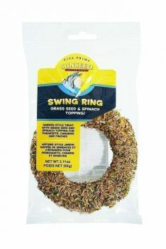 Grass & Spinach Swing Ring-Sun Seed Vita Prima