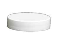 48/400 White Smooth Lid