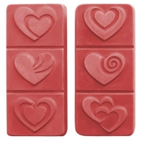 Break Away Hearts Soap Mold
