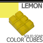 Lemon Solid Color Cubes