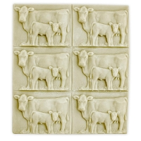 Tray Cow & Calf Soap Mold