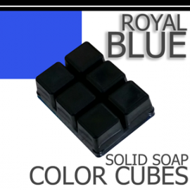 Royal Blue Solid Color Cubes