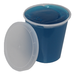8oz Jelly Soap Tub w/Lid