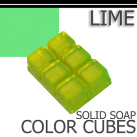 Lime Solid Color Cubes