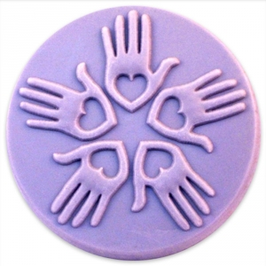 Loving Hands Soap Mold
