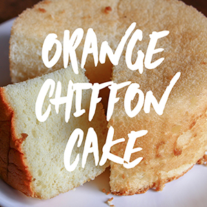 Orange Chiffon Cake Fragrance Oil *