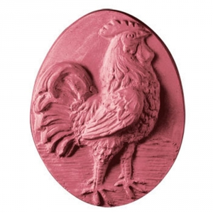 Rooster Soap Mold