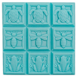 Tray Art Deco Fauna Soap Mold