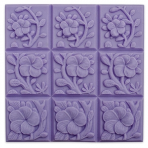 Tray Tropical Vines Soap Molds