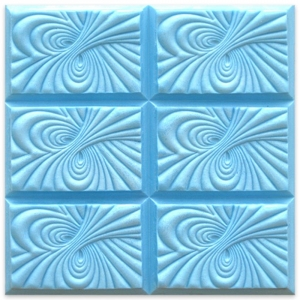 Tray Vortex Soap Mold