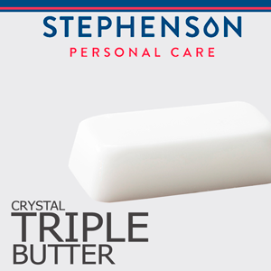 Stephenson Crystal Triple Butter