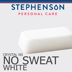 Stephenson Crystal White No Sweat